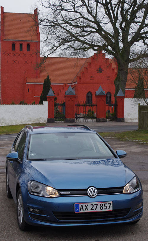test vw golf variant