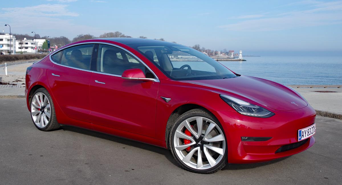 Biltest: Tesla Model 3 Long Range AWD Performance ...