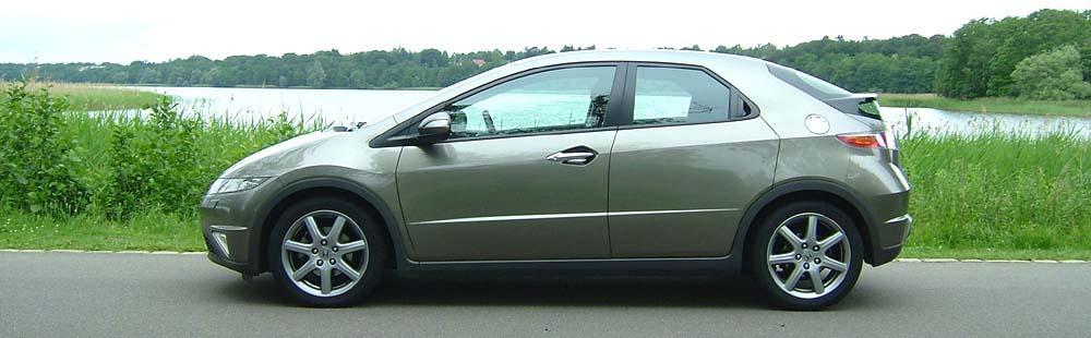 Biltest Honda Civic 1 8 Sport