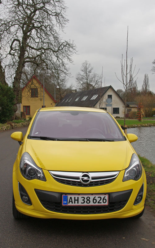 biltest opel corsa 1 4 turbo sport edition pr vek rsel bilanmeldelse test. Black Bedroom Furniture Sets. Home Design Ideas