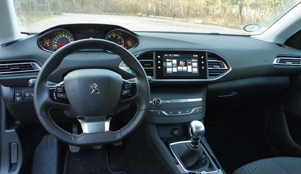 Biltest: Peugeot 308 SW Active Blue e-HDI - prøvekørsel - bilanmeldelse - test - anmeldelse ...