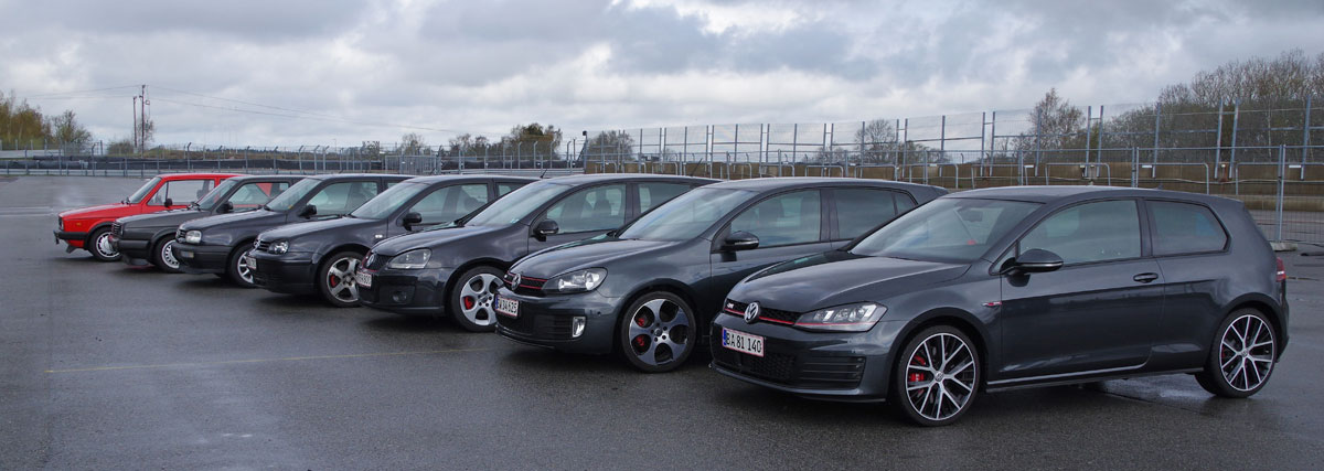 golf 40 år VW   Volkswagen   Golf   GTI   Clubsport   40   år   years  golf 40 år