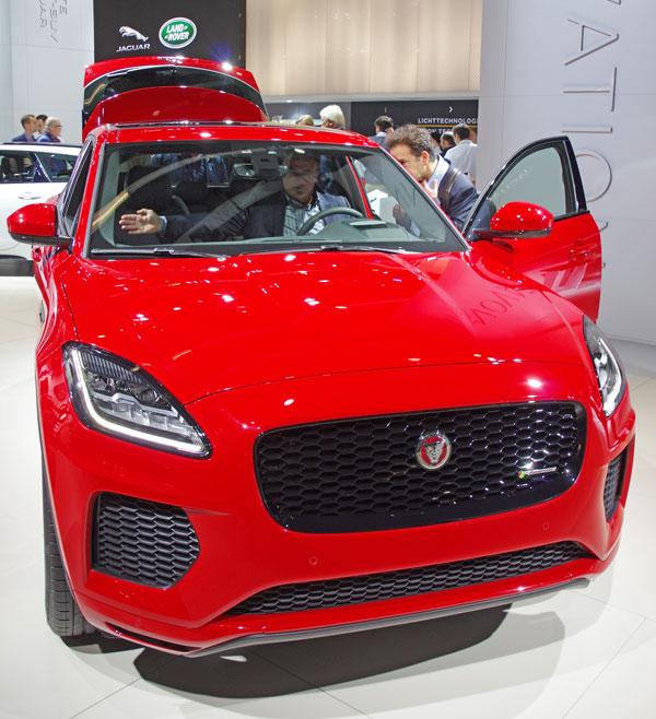 Jaguar Xe Sv Project 8: 67. Internationale Automobil-Ausstellung